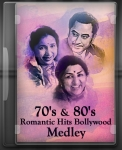 70's and 80's Romantic Hits Bollywood Medley - MP3 + VIDEO