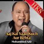 Aaj Kal Yaad Kuch Aur Rehta (Live) - MP3 + VIDEO