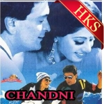 Chandni O Meri Chandni (With Female Vocals) - MP3