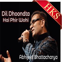 Dil Dhoondta Hai Phir Wohi - MP3
