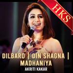 Dilbaro   Din Shagna   Madhaniya (Mashup) - MP3