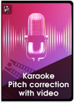 Karaoke Pitch Correction With Video