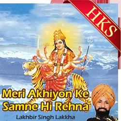 Meri Akhiyon Ke Samne Hi Rehna - MP3 + VIDEO