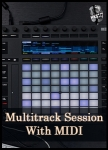 Multitrack Session Download With MIDI
