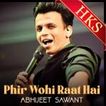 Phir Wohi Raat Hai (Cover) - MP3