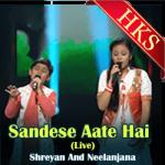 Sandese Aate Hai (Live) - MP3
