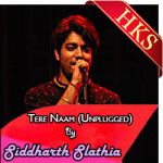 Tere Naam (Sidharth Slathia Version) - MP3 + VIDEO