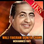 Wali Fakiran Duniya Chani - MP3